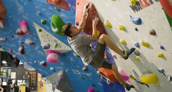 Rock climbing builds confidence, muscles and friendships