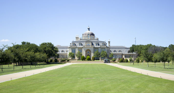 The second largest mansion in Texas is up for grabs