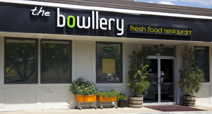 """The Bowllery's new art exhibition """"emic"""" gives blend of food and art to Denton"""