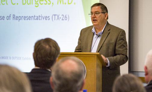 Michael Burgess talks energy in summit at UNT's Discovery Park