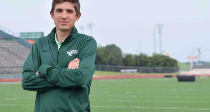 New coach brings refreshing enthusiasm to Mean Green cross country program
