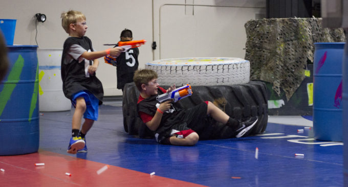 Nerf battlefield in Denton home to instant nostalgia