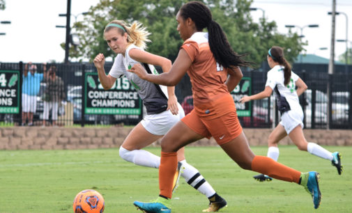 Soccer draws Texas in first round of NCAA Tournament