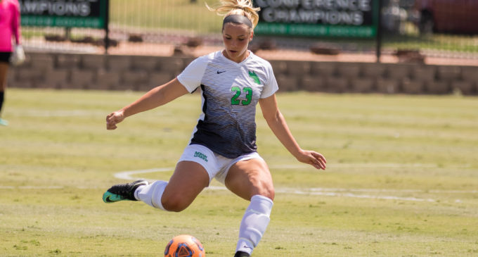 Lampe fills unique role for Mean Green soccer