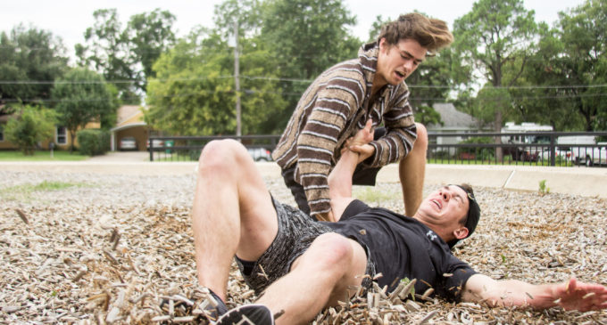 Communication student fights, wrecks and tumbles toward stuntman career