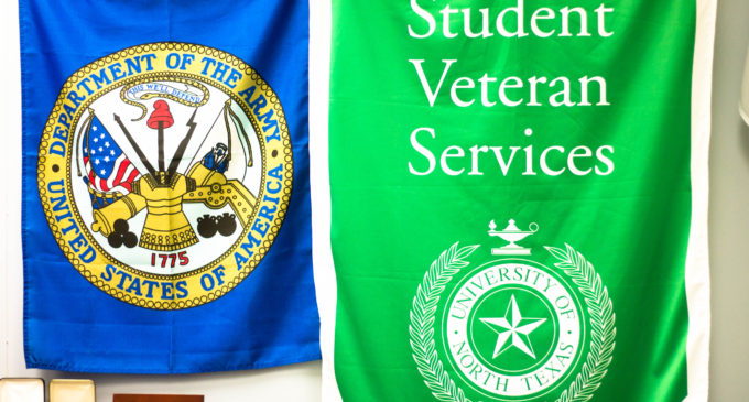 UNT named a Purple Heart University for its support of the combat wounded