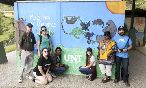 UNT Future Without Poverty members learn about ecotourism at world summit in Costa Rica