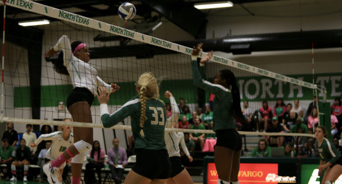 Volleyball extends win streak to five with win over UAB