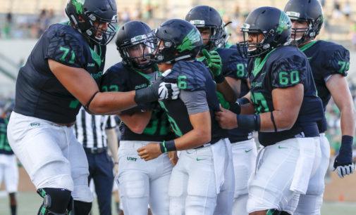 Mason Fine's improvement key to North Texas' fast start