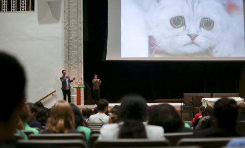 Distinguished Lecture Series brings Reddit co-founder to UNT