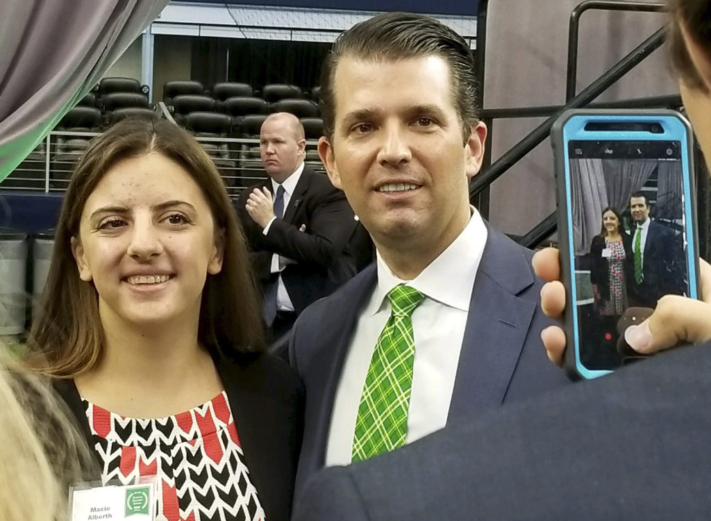 Donald Trump Jr. event through Kuehne Series raised less funds than UNT reported
