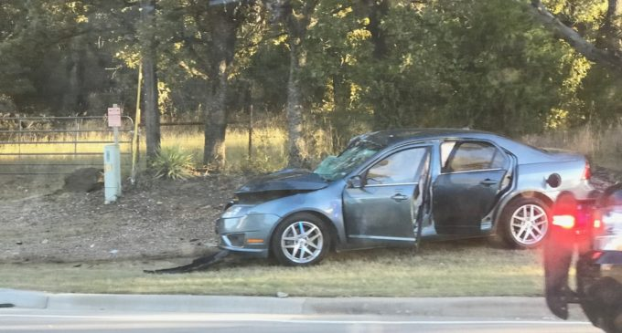 School bus carrying children involved in accident on Highway 380