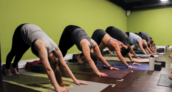 Denton yoga studio hosts classes with unconventional twists