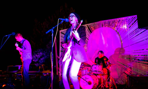Backyard Block Party merges local live music and visual art
