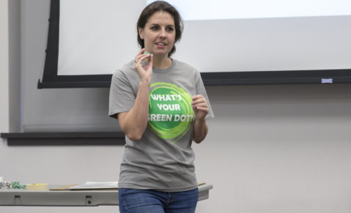 UNT hosts first Green Dot bystander intervention training for students