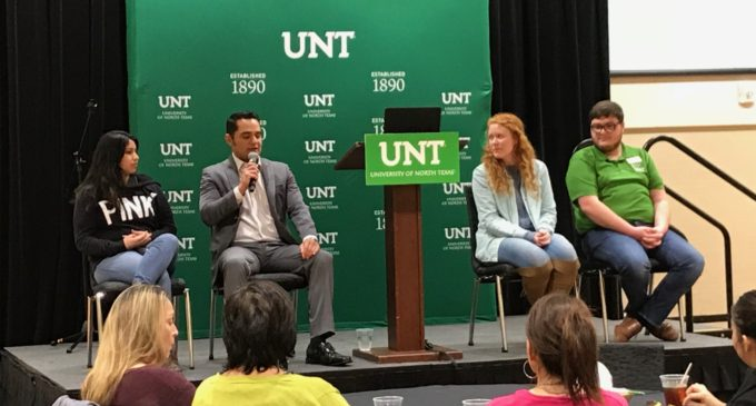 UNT hosts first-generation student event to commemorate education act