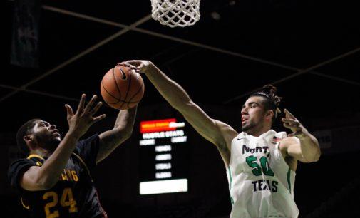 Second half run sends men's basketball past Grambling State