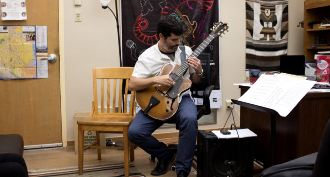 New UNT jazz professor brings worldwide experience to the classroom