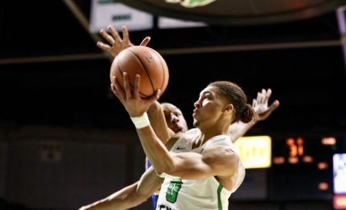 Size steps up for men's basketball as they dispatch of McNeese State