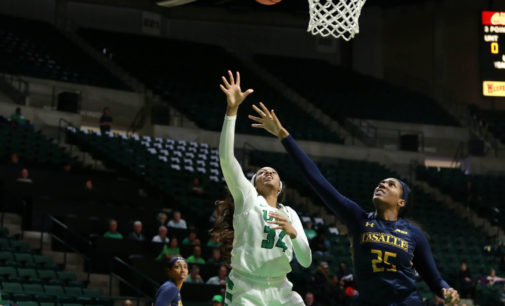 Women's basketball continues to shine defensively in dominant win over La Salle