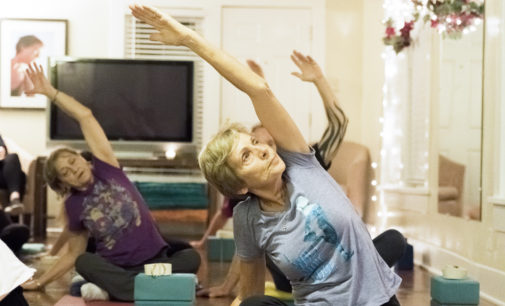 Prenatal yoga gives beneficial exercise for mothers-to-be