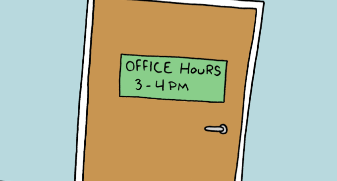 More office hours from professors are a necessity
