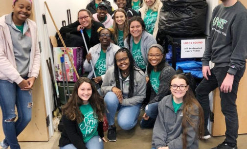 Grateful and giving back: freshman has perspective change on alternative service break trip helping homeless youth