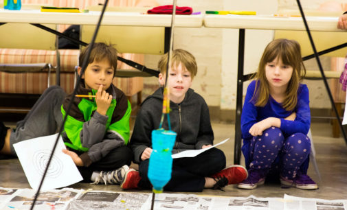 Arts After School program teaches painting and perspective