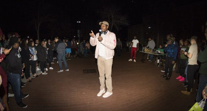 UPC brings rap to UNT with cypher in Library Mall