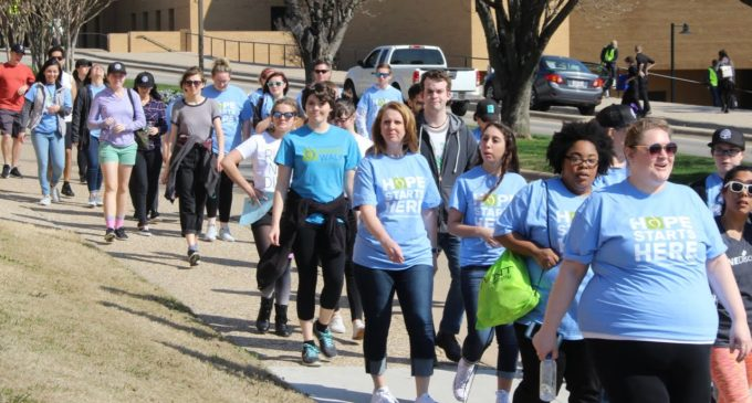 Students and community members unite to walk for eating disorder awareness