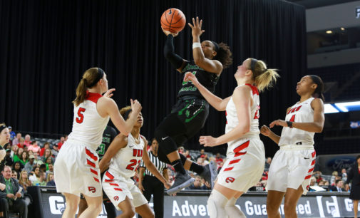 Historic season ends in conference semifinals for women's basketball