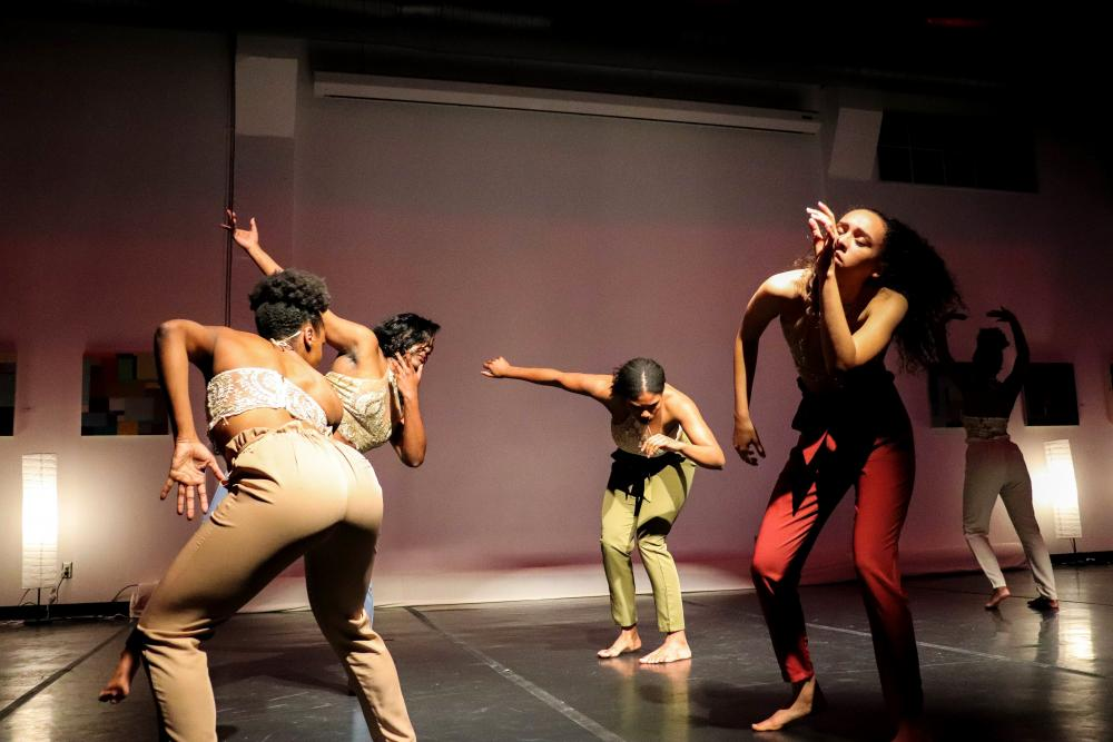 "TWU Dance Department performs ""Chapters: The Process of Healing"""