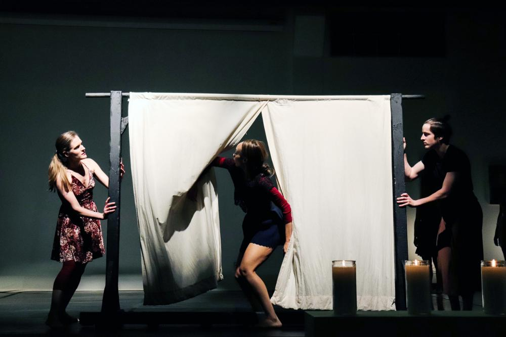 "UNT Dance Department performs ""Through the Narrow Door"""