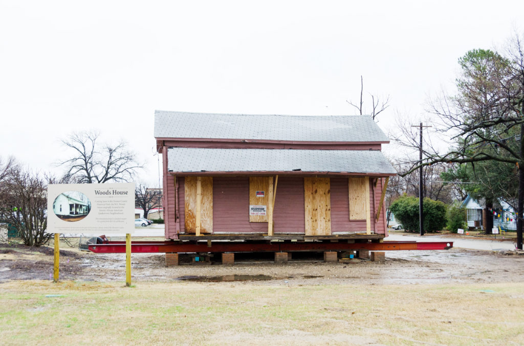 One of last Quakertown houses moved to Historical Park