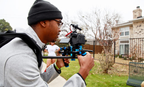 From the field to film: TeVaun Scallion finds his calling