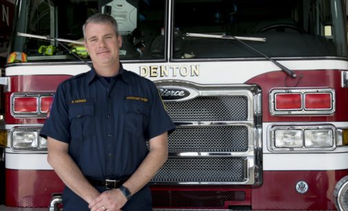 After more than three decades, Denton chooses internal hire for fire chief with Kenneth Hedges