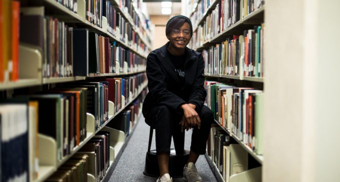 The girl behind the scenes: UNT student Ciara Boniface makes waves as Visionary Filmmaker Award winner