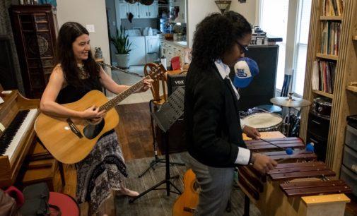Coyote Music Studio helps through harmony