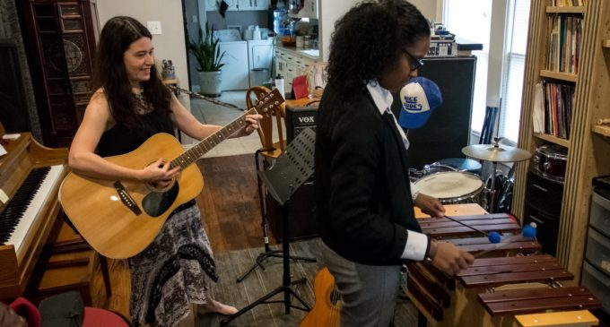 Coyote Music Studio helps through harmony