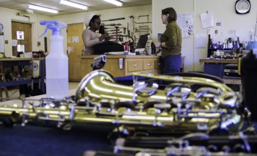 Good as new: Instrument repair shop gives musicians quick fix