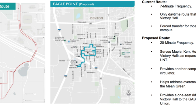 DCTA looks to address overcrowding with new UNT routes