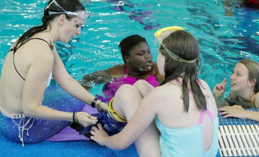 Masquerading mermaids: Denton's mermaid club welcomes all