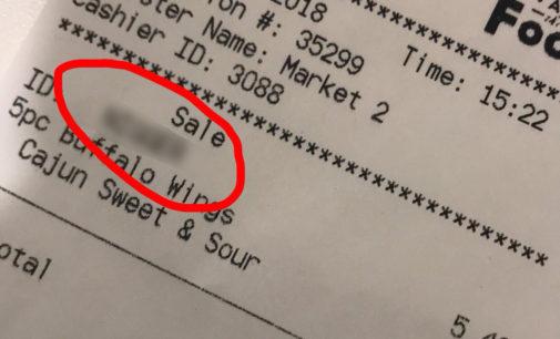 Student finds racial slur on receipt from UNT dining establishment