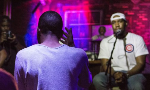 UNT alumni spark conversation with Hip Hop Book Club