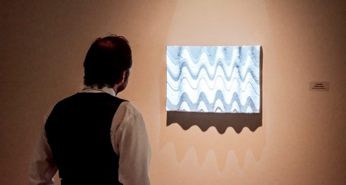 TWU professor plays with light, form in new 'Structured Light' exhibition