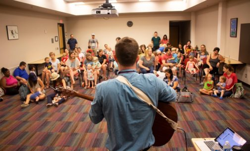 Denton Public Library hosts San Antonio-based children's singer Will Parker