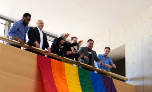 New Dallas LGBT exhibit and pride flag unveiling event kicks off Pride Month in celebration, reflection