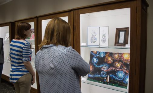'Dusk to Dawn' art exhibit: Willis Library plays host to staff talent