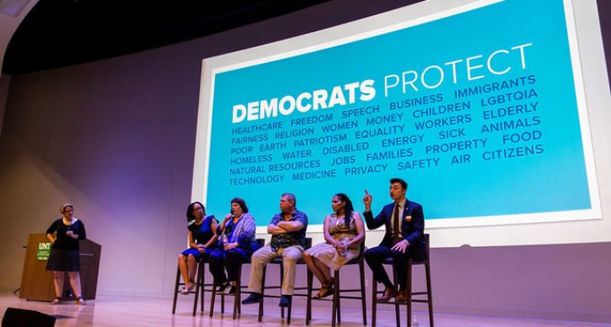 "Democrats talk voter engagement, young voters at ""The Future is Blue"" event"