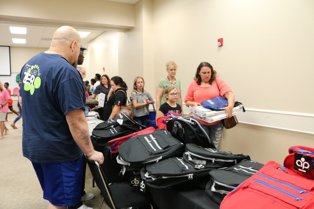 Local charities come together to provide school supplies to those in need